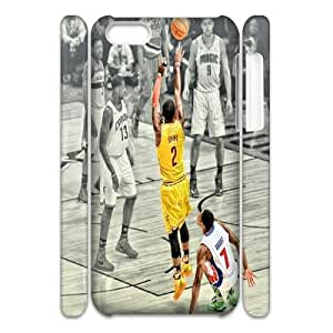 ZK-SXH - Kyrie Irving Customized 3D Hard Back Case for iPhone 5C, Kyrie Irving Custom 3D Cell Phone Case
