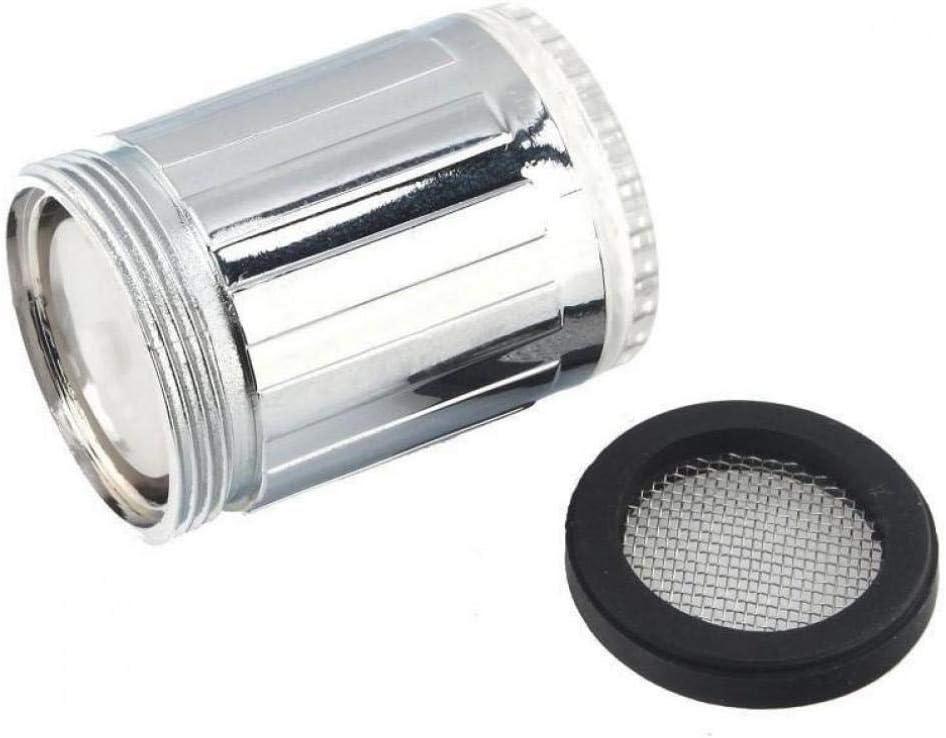 Froniy 1PC leuchtende Gl/ühen-Licht-up LED-Wasser-Hahn-Dusche-Hahn Wasser-D/üse-Kopf-Licht Badezimmer K/üchenarmaturen