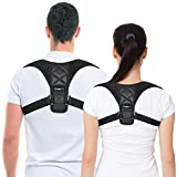 Best Posture Corrector & Back Support Brace for Women and Men by BRANFIT, Figure 8 Clavicle Support Brace is Ideal for Shoulder Support, Upper Back & Neck Pain Relief.