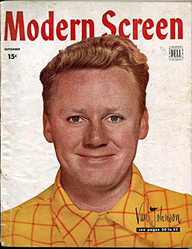 - Modern Screen Magazine September 1946- Van Johnson- Judy Garland- Shirley Temple