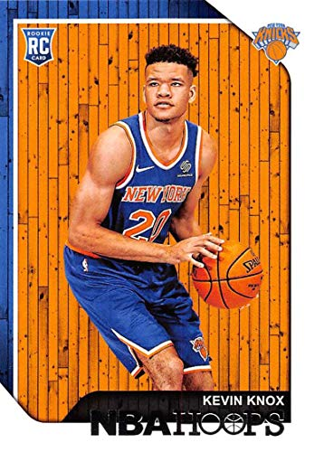 2018-19 NBA Hoops Basketball #242 Kevin Knox New York Knicks RC Rookie Card made by Panini