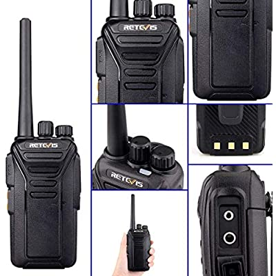 Retevis RT27 2 Way Radio Long Range Rechargeable Hands Free 22 Channel FRS UHF Two-Way Radios(6 Pack) with Six Way Multi Gang Charger: Car Electronics
