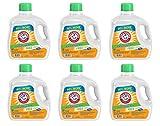 Arm & Hammer Liquid Laundry Detergent for Sensitive Skin, 107 loads, 160.5 fl oz (Pack of 6)