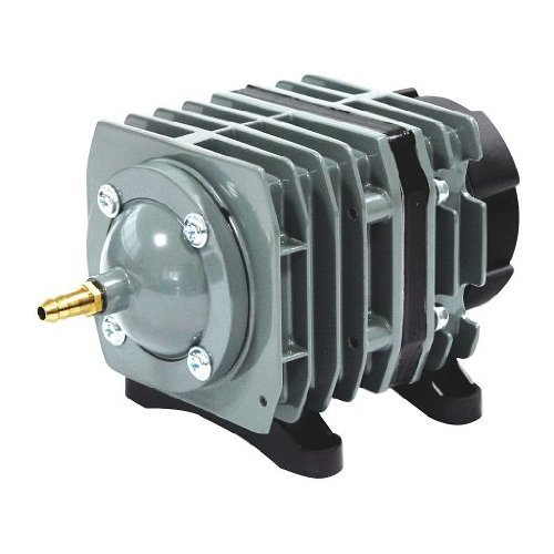 O2-Commercial-Air-Pump-571-gph-247-psi-20watts-120volt-HydroponicsAquariumPond-air-pump