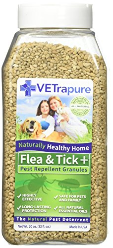 Radio Systems VetraPure Flea and Tick Natural Deterrent G...