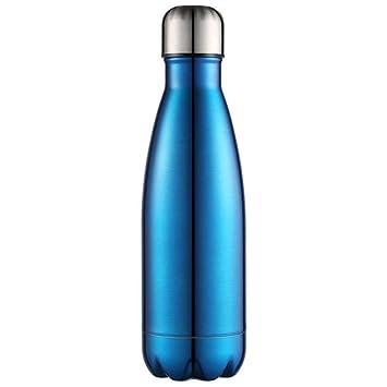 Botella de Agua Frasco con Aislamiento al vacío Acero Inoxidable ...