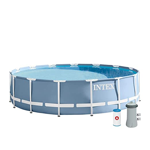 Intex 26734NP - Piscina desmontable Prisma Frame 457 x 107 cm ...