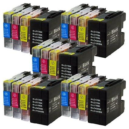 Prestige Cartridge 20 XL Cartuchos de Tinta para Brother MFC ...