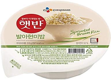 Arroz integral instantáneo cocido germinado coreano, sin ...