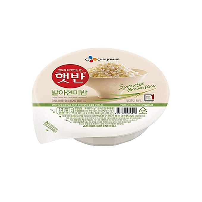 Arroz integral instantáneo cocido germinado coreano, sin gluten ...