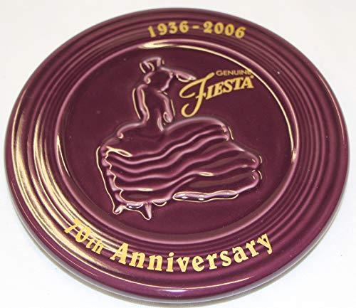 Fiesta heather trivet 70th anniversary limited edition 1936-2006 Homer Laughlin