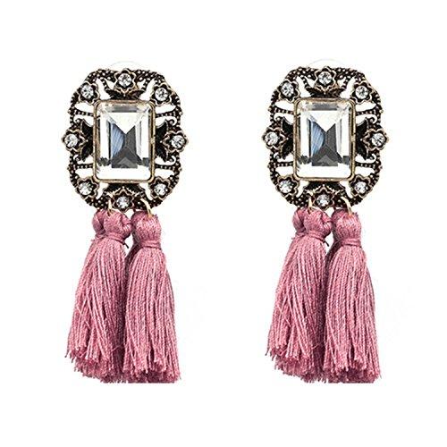 Earings Women Fashion Jewelry Women Vintage Tassel Statement Stud Earrings Women Jewelry - Mills Stores Potomac