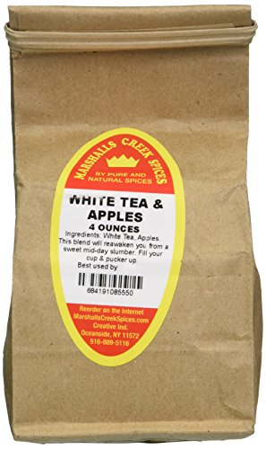 (Marshalls Creek Spices Loose Leaf Tea, White and Apples, 4 Ounce)