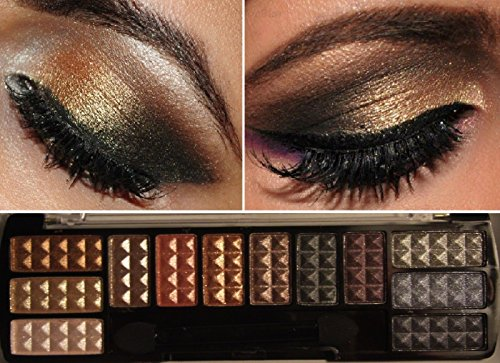 Eye Shadow Makeup Cosmetic 12 Color Shimmer Matte Eyeshadow Palette & brush