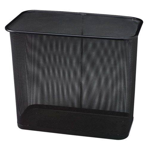 Wholesale CASE of 10 - Rubbermaid Steel Mesh Rectangle Wastebasket-Rectangular Wastebasket, 30 Qt., 16