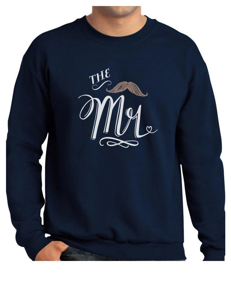 The Mr. Wedding Gift for Couples/Married Couples Sweatshirt XX-Large Navy