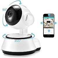 Hd 720P IP Camera V380 Housekeeping Wireless WIFI Security Camera Home Surveillance System Network Webcam Baby Monitor Pet Nanny Cam IR Night Vision Motion Sensor CCTV Cameras
