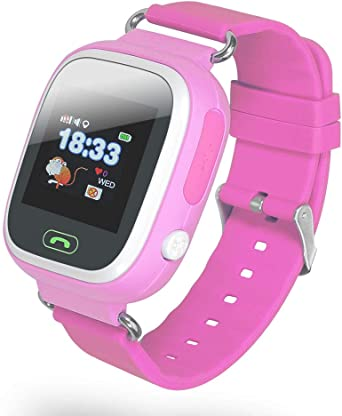 Chicpluss INNO-KIDS8- Rosa. Reloj Inteligente GPS para niños ...
