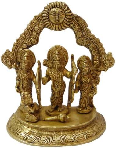 RAM DARBAR Statue ReligiousホームD ?Cor Figurine従来真鍮メタルSculptur
