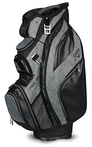 Callaway Golf 2018 Org 15 Cart Bag, Black/Titanium/Silver