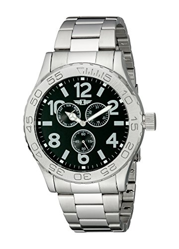 I By Invicta Men's 41704-003 Stainless Steel Black Dress Watch