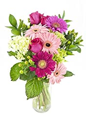 So Happy Together (Pink Daisy) Bouquet -With Vase