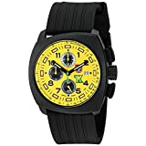 Luminox Men's 1105 Tony Kanaan PC Carbon Chrono Analog Quartz Watch, Black