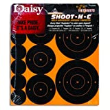 Daisy Outdoor Products 995835-772 Shoot-N-C Self-Adhesive Airgun Targets, Black/Yellow, 1-Inch/2-Inch/3-Inch