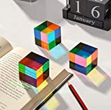 CMY Color Cube, 1.6 inch Acrylic Glass Cube