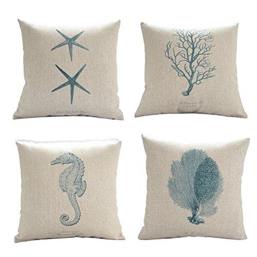 Onker Decorative Cushion Starfish Seahorse product image