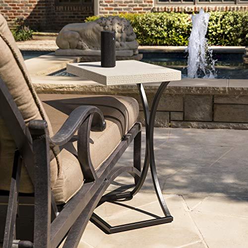 Cheap  Adiren Indoor and Outdoor C Table, Cement Gray