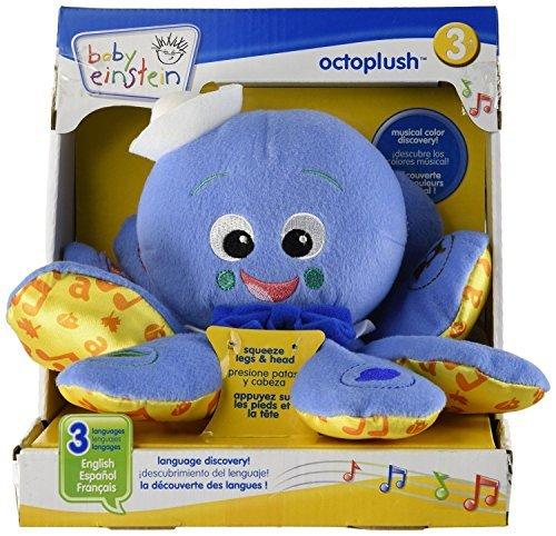 OctoPlush Octopus Musical Baby Toy Developmental Soft Plush