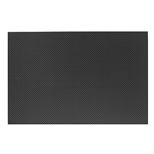 Generic Plaque en fibre de carbone 200 x 300 x 2 mm