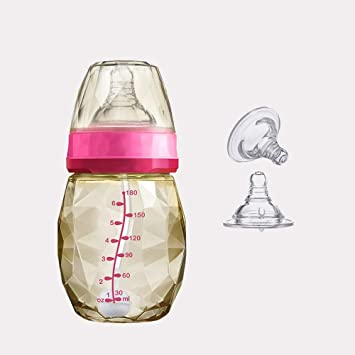 MC-BLL-Baby bottle Biberón de Gran Calibre para bebés recién Nacido ...