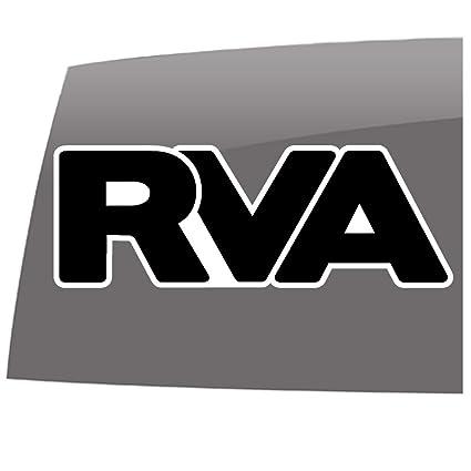 Amazon.com  RVA White Outline Sticker - Window Decals - 5 year - Outdoor  Vinyl Sticker  Automotive 2f524331599