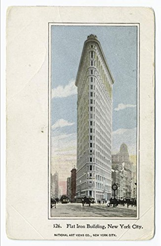 (Historic Pictoric Print | Flat Iron Building, New York City, 1901 | Vintage Wall Art | 24in x 36in)
