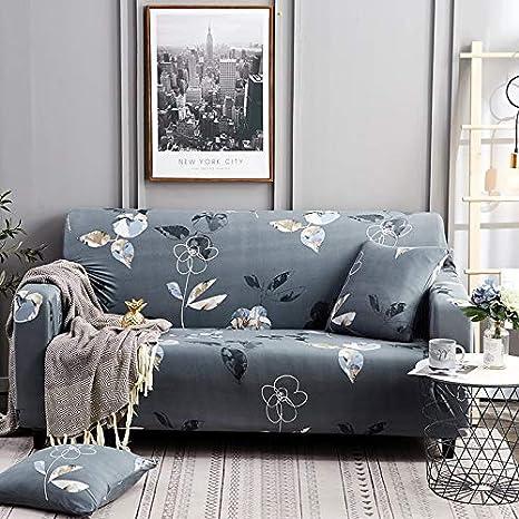 Qinqin666 Funda de sofá de Estilo Simple con Estampado de ...