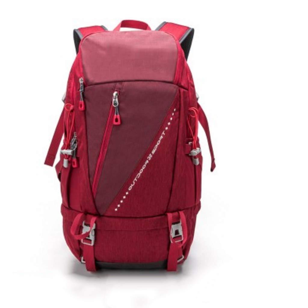 38L旅行バッグ防水登山バッグショルダーバッグ男性と女性のアウトドアバックパック (色 : C)  C B07Q73NGZ1