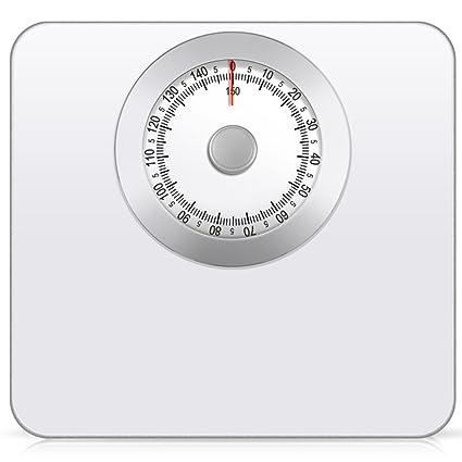 Electronic scale LVZAIXI Báscula de baño mecánica: pesaje rápido, preciso y confiable, dial