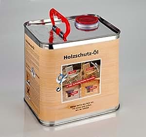tiefenöl LF/2,5l lata–Aceite para protección de madera para interior y exterior