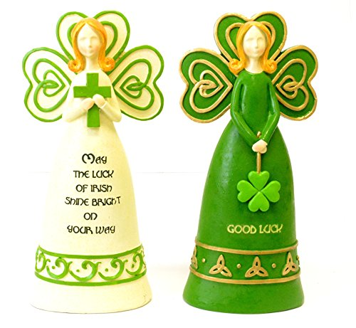 St. Pats Polyresin Angels (St Pats Figurines)