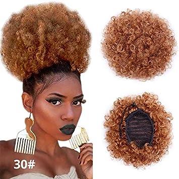 Afro bun hair piece for that