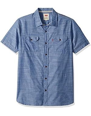 Men's Huxley Short Sleeve Woven Shirt