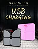 A4s USB Charging Scales LED Digital Display Pattern Weight Weighing Floor E ....