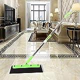 Nesee Multi-Function Telescopic Magic Dust-Free Sweeping Brush Magic Broom Sweeper Dust Hair Bathroom Wiper Broom Rotate Connector Rubber Tool