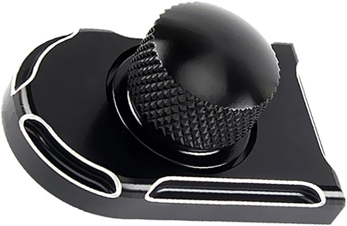 Gazechimp 1x Sitzbank Schraube Mit Abdeckung Sitz Und Montagezubehör Für Harley Softail Auto