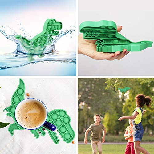 Pop Fidget Toys Push Bubble Fidget Sensory Toy for Autistic Children Stress Anxiety Relief Simple Dimple Autism Special Needs Preschool Teacher Supplies Fun Stuff Gifts for Adult Toddler Kids