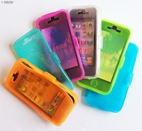 iPhone 4 g/4S en plastique coloré Flip C-Thru Kit de protection-Achetez 1 obtenez 1 GRATUIT!