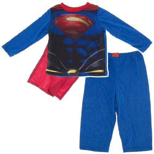 Superman Pajamas With Cape For Toddler B Buy Online In Cambodia At Desertcart