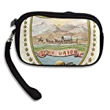 Idaho Territory Coat Of Arms Deluxe Printing Small Purse Portable Receiving Bag